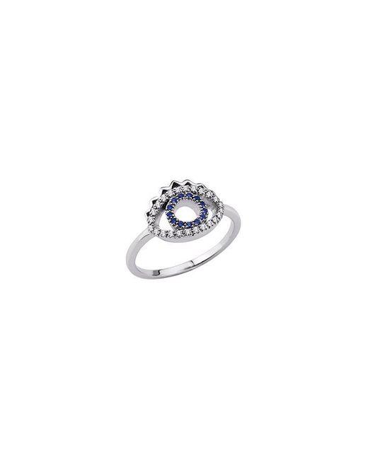 KENZO - Metallic 24134110205 Sterling Silver & Cz Ring - Lyst