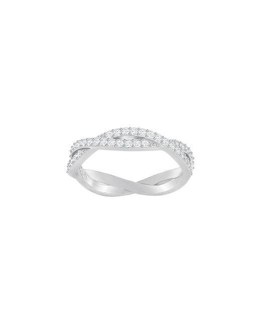 Swarovski | Metallic Infinity Ring | Lyst