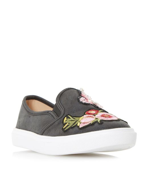 Dune | Black Edan Novelty Skater Trainers | Lyst
