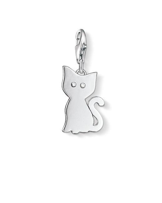 Thomas Sabo | Metallic Charm Club Cat Pendant | Lyst
