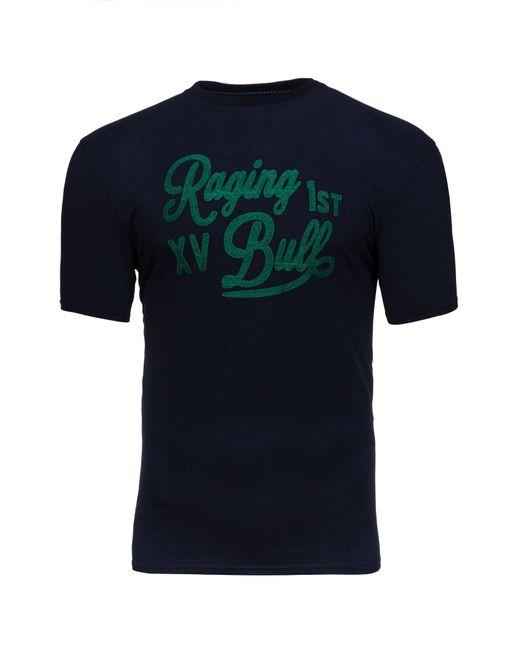 Raging Bull - Blue Embroidered 1st Xv T-shirt for Men - Lyst