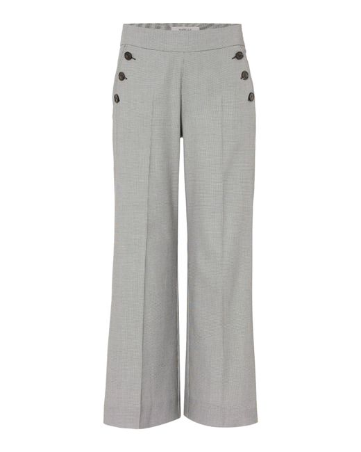 Marella | Gray Iliade Button Detail Trouser | Lyst