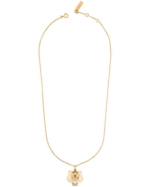 KENZO   Metallic 263840108048 Gold & Opal Necklace   Lyst