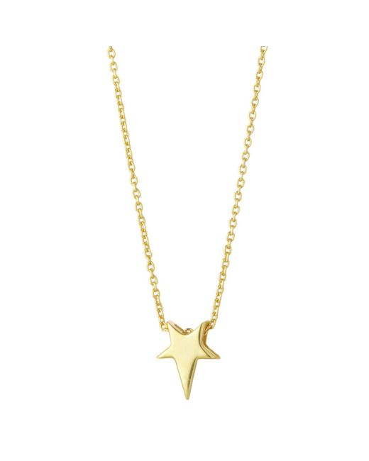 Juvi Designs - Metallic North Star Gold Pendant - Lyst