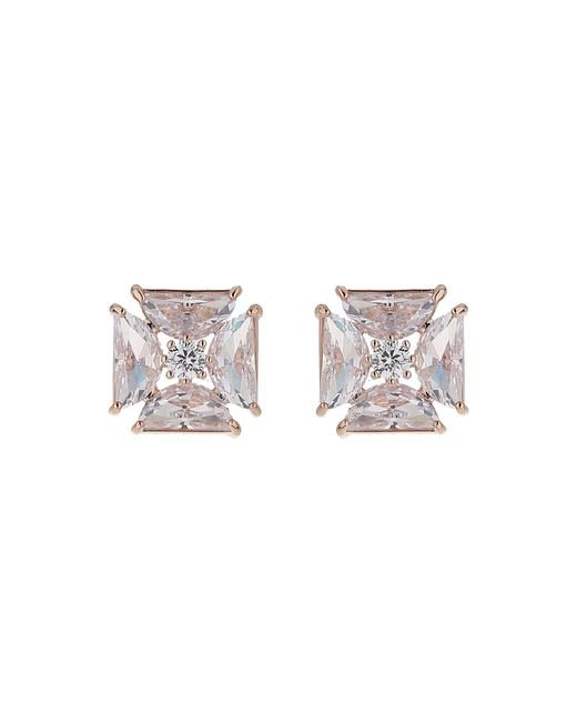Mikey | Multicolor Celtic Cross Baguette Stud Earring | Lyst