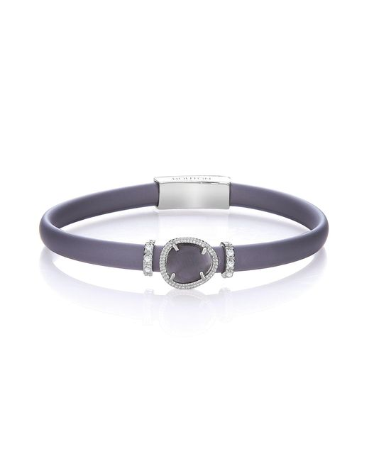 Bouton - Metallic Single Row Organic Catseye Bracelet - Lyst