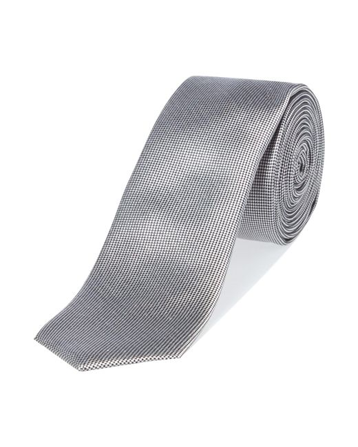 Kenneth Cole | Metallic Wyndham Solid Silk Tie for Men | Lyst
