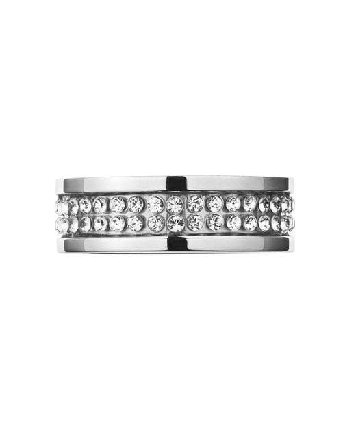 Dyrberg/Kern | Metallic Fratianne Shiny Silver Ring | Lyst
