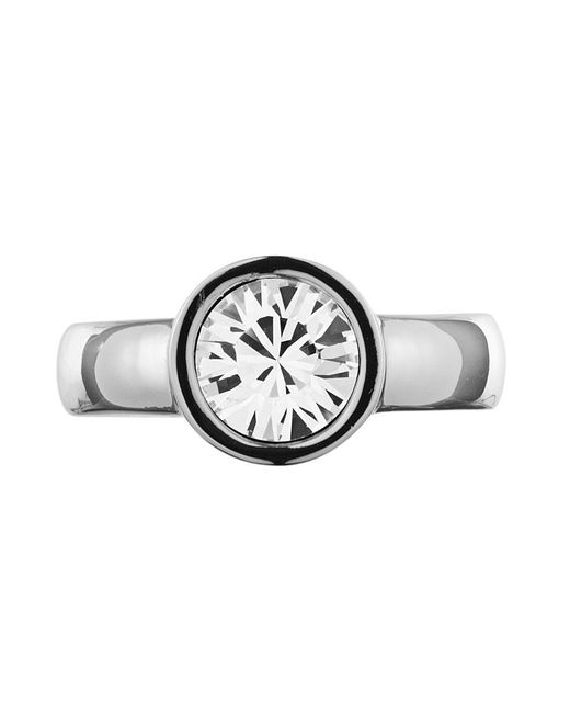 Dyrberg/Kern | Metallic Cyrielle Shiny Crystal Ring | Lyst