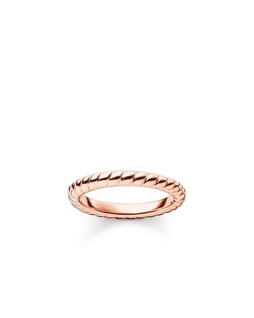 Thomas Sabo | Metallic My Rings Roped Ring | Lyst