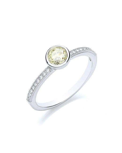 Bouton   Metallic Stacker Ring Brilliant   Lyst