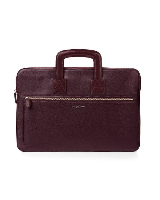 Aspinal | Red Connaught Document Case for Men | Lyst