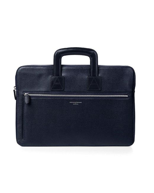 Aspinal | Blue Connaught Document Case for Men | Lyst