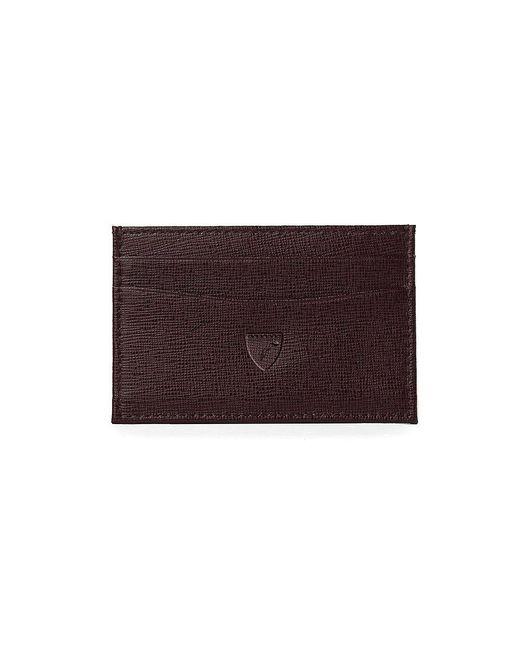 Aspinal | Brown Slim Credit Card Case | Lyst