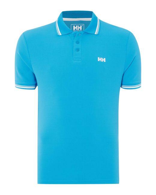 Helly Hansen | Blue Kos Polo T-shirt for Men | Lyst