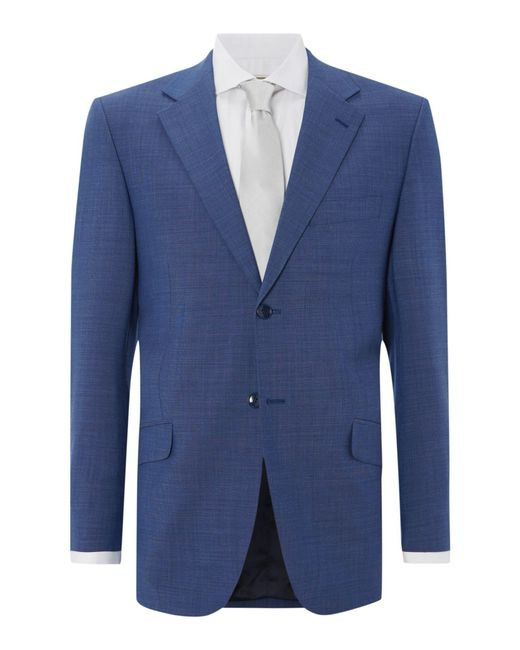 Howick | Blue Folcroft Textured Suit Jacket for Men | Lyst