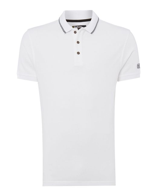 Barbour | Black International Polo Shirt for Men | Lyst