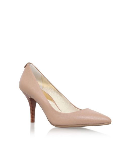 Michael Kors | Brown Mk Flex Small Heeled Pumps | Lyst