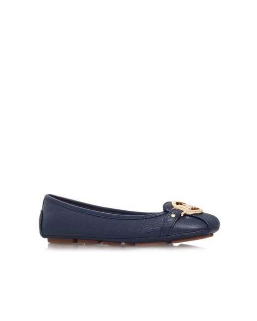 Michael Kors | Blue Fulton Moc Slip-on Shoes | Lyst