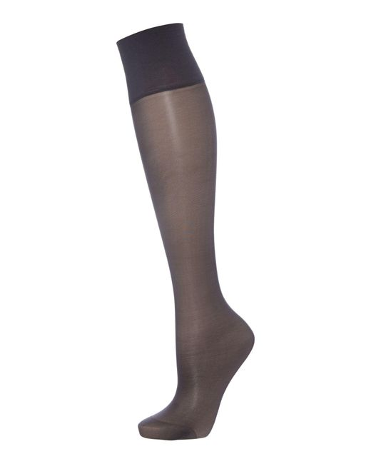 Elbeo | Black Sheer Magic Medium Support 15 D Sheer Knee High | Lyst