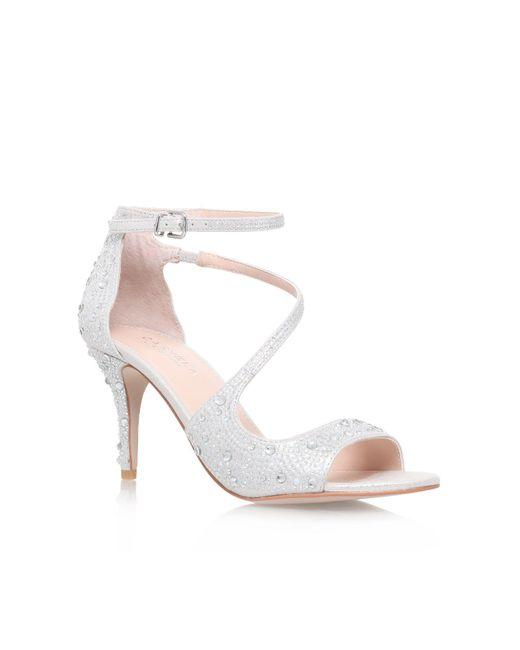 Carvela Kurt Geiger | Metallic Gamma High Heel Sandals | Lyst