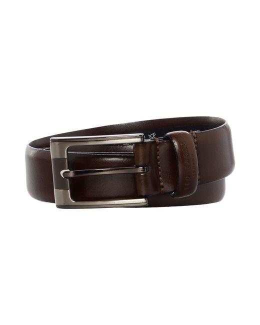 Ted Baker   Brown Formal Leather Belt for Men   Lyst