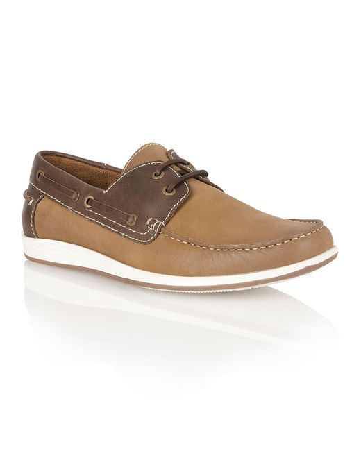 Lotus | Brown Exmouth Lace Up Casual Boat Shoes for Men | Lyst