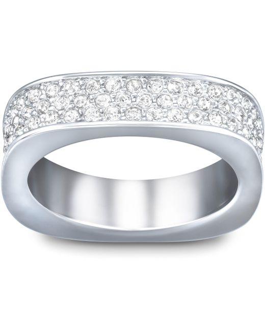 Swarovski | Metallic Vio Ring | Lyst