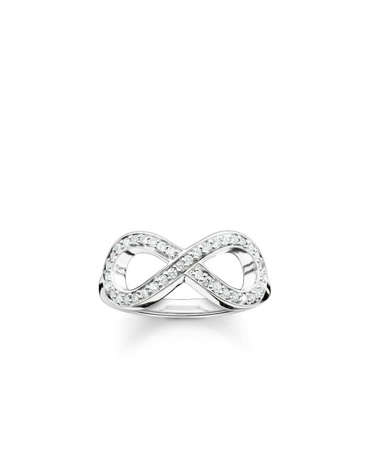 Thomas Sabo | Metallic Glam & Soul Infinity Ring | Lyst