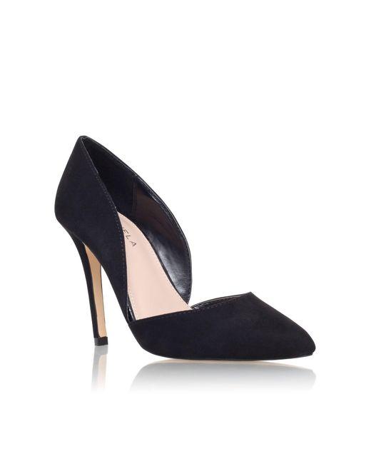 Carvela Kurt Geiger   Black Lexi High Heel Court Shoes   Lyst
