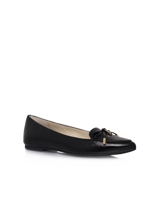 Michael Kors | Black Nancy Flat Slip On Shoes | Lyst