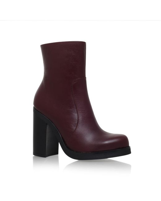 Carvela Kurt Geiger | Red Spirit High Heel Boots | Lyst