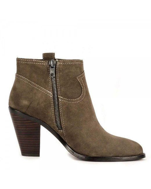 Ash | Brown Ivana Suede Ankle Boots | Lyst