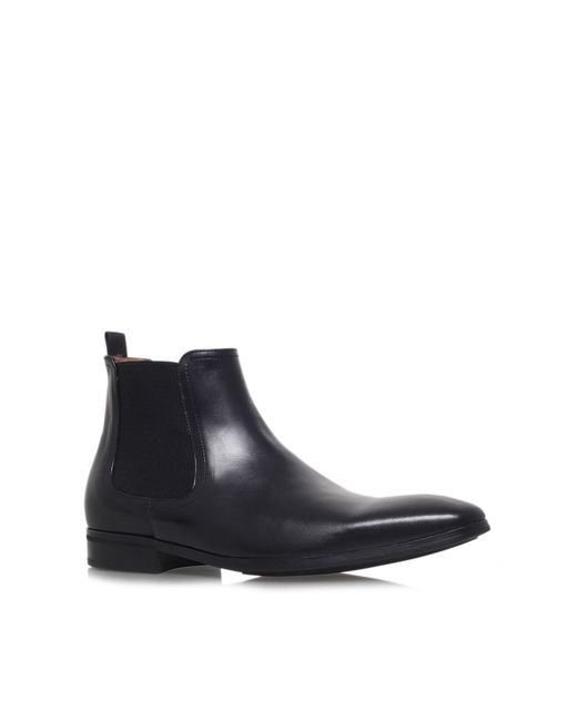 Kurt Geiger | Black Gerald Leather Boots Chelsea for Men | Lyst
