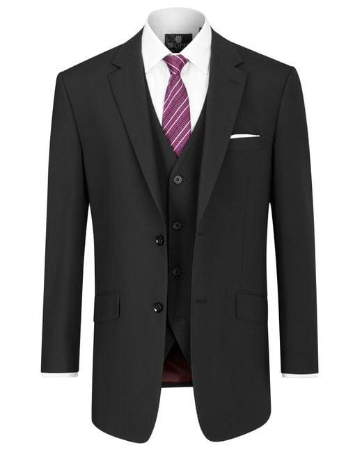 Skopes   Black Darwin Suit Waistcoat for Men   Lyst