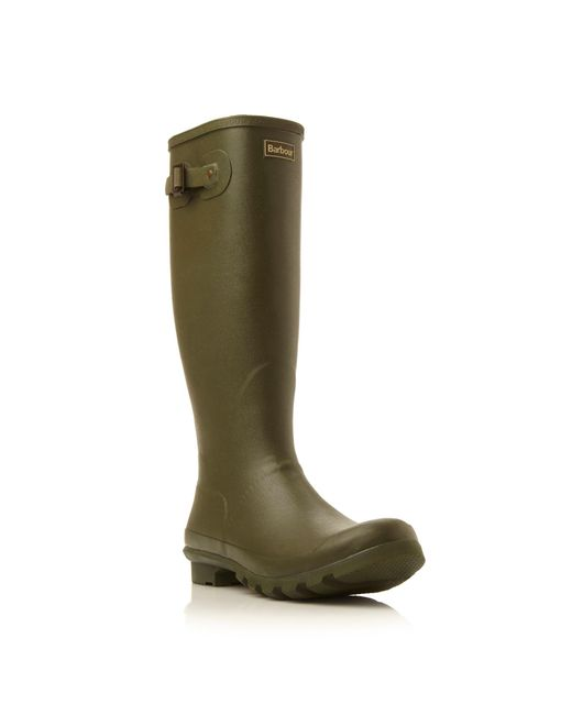 Barbour | Green Bede Wellington Boots for Men | Lyst