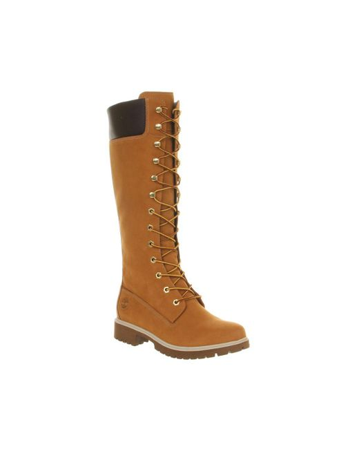 Timberland | Brown 14 Inch Premium Knee Boots | Lyst
