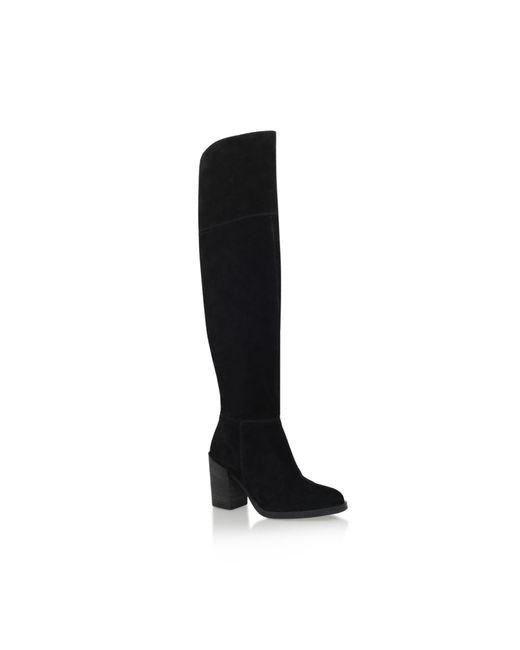 Carvela Kurt Geiger | Black Wish High Heel Knee Boots | Lyst