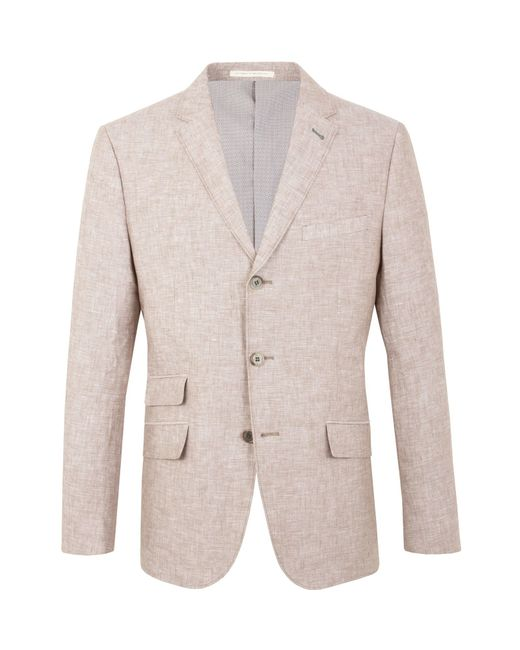 Racing Green | Pink Farley Linen Blazer for Men | Lyst