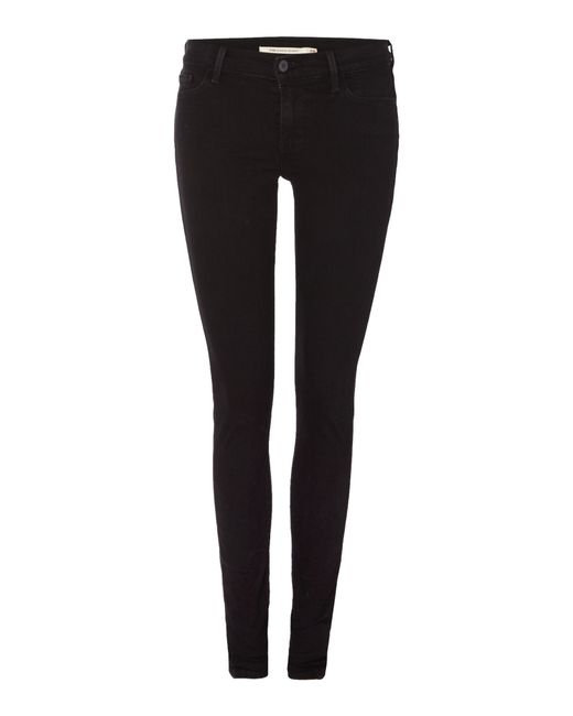 Levi's | Black Super Skinny Jeans | Lyst