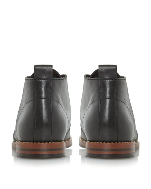 Bertie | Black Mase 2 Eye Lace Up Boots for Men | Lyst