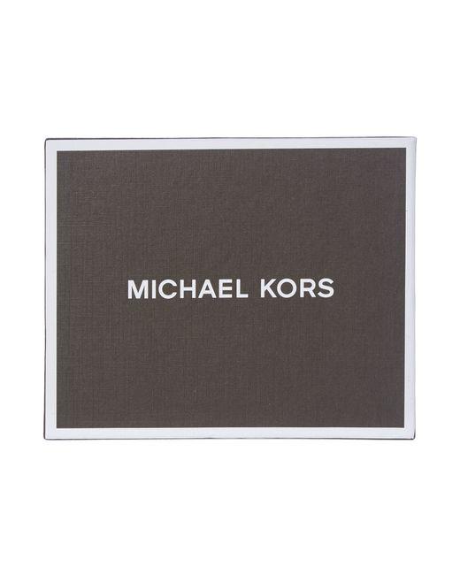 Michael Kors | Black Owen Smooth Leather Billfold Wallet for Men | Lyst