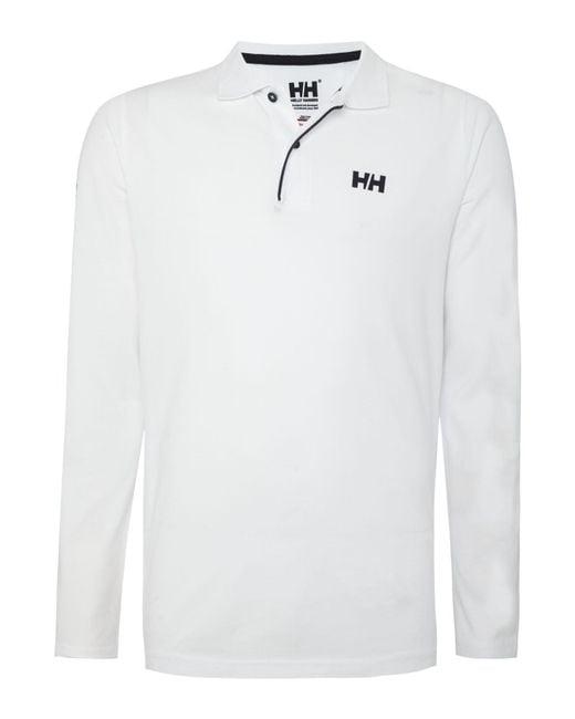 Helly Hansen | White Transat Polo for Men | Lyst