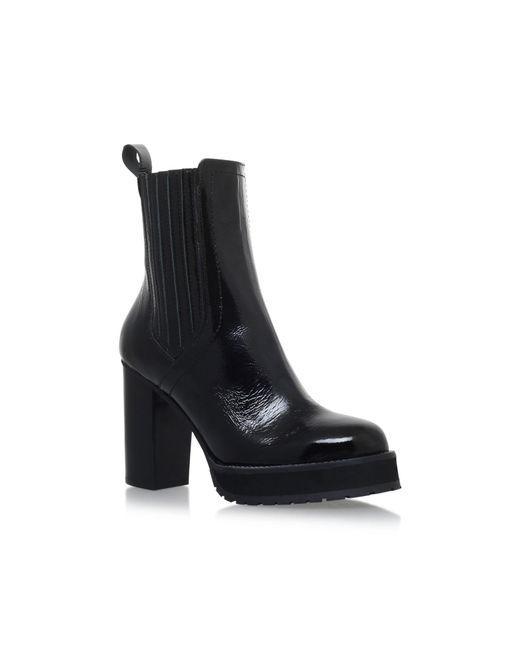 KG by Kurt Geiger | Black Storm High Heel Ankle Boots | Lyst