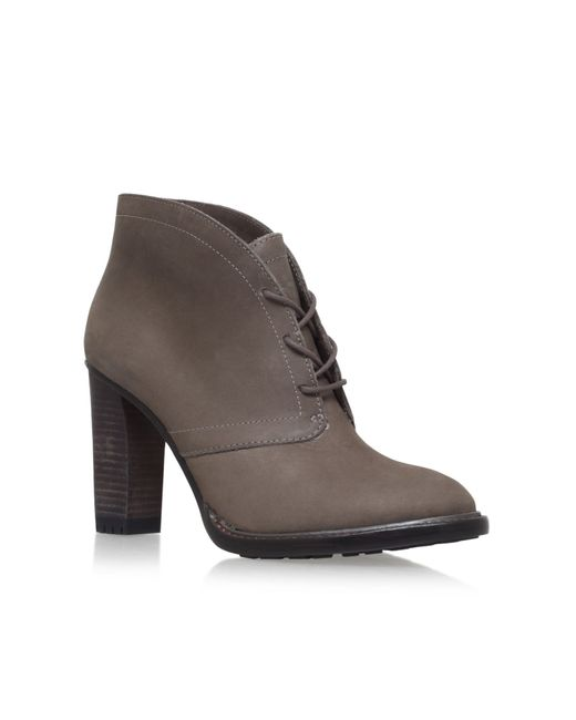 Vince Camuto | Gray Ferdinand Heeled Bootie | Lyst