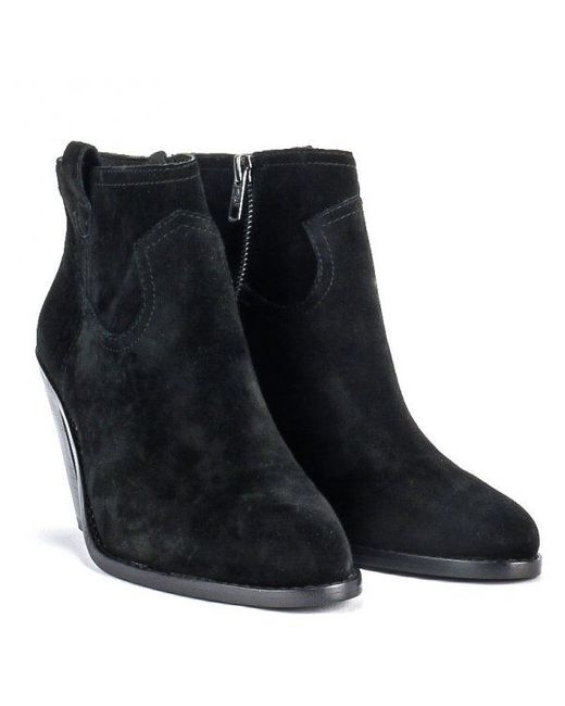 Ash | Black Ivana Ankle Boots | Lyst