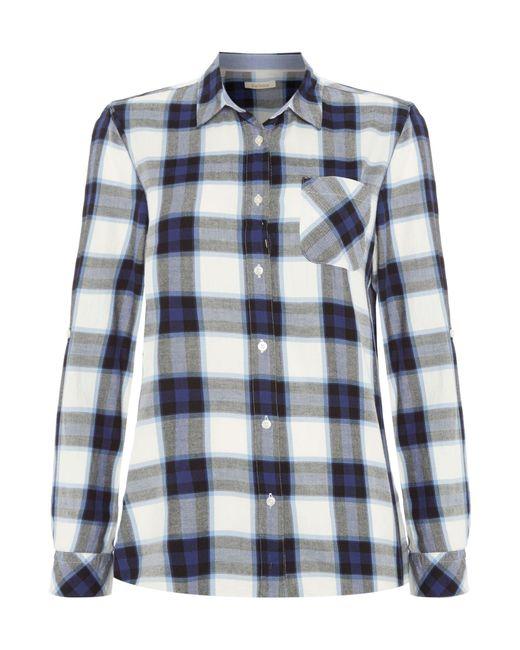 Barbour   Blue Headland Shirt   Lyst
