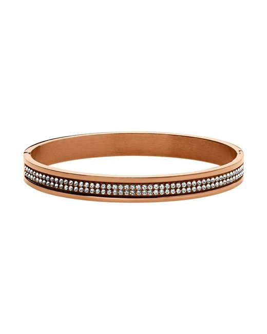 Dyrberg/Kern | Brown Dk333176 Lorbel Ii Rg Crystal Bracelet | Lyst