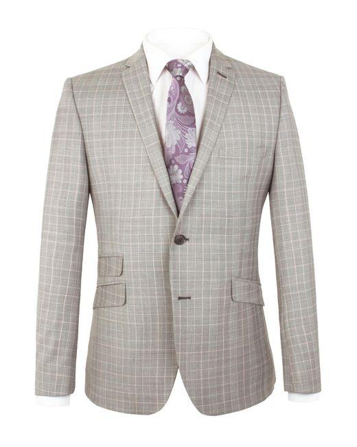 Alexandre Of England | Blue Barnsbury Slim Jacket for Men | Lyst