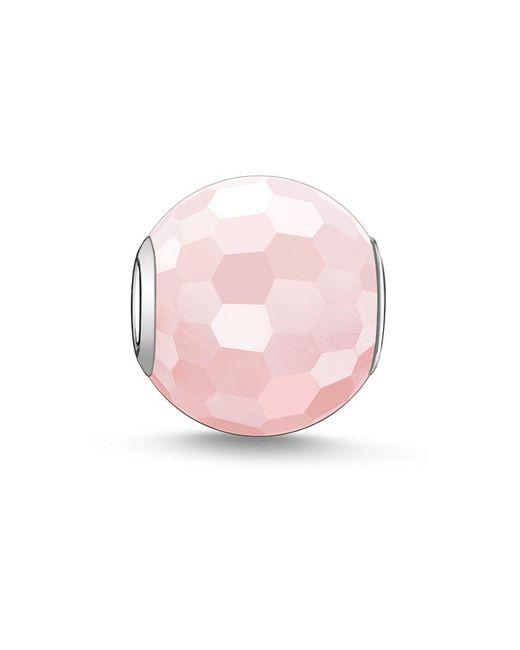 Thomas Sabo - Pink Karma Beads Bead Rose Quartz - Lyst
